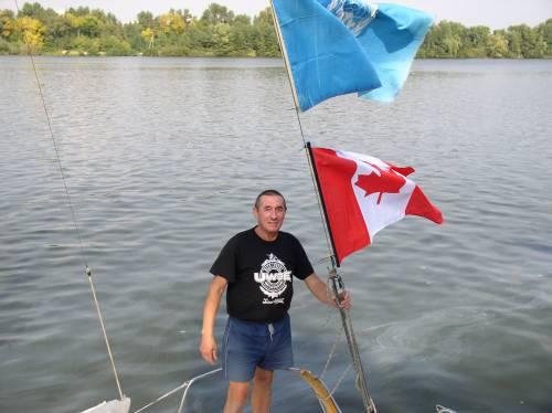 Украинско - Канадская экспедиция на остров Зеленый
